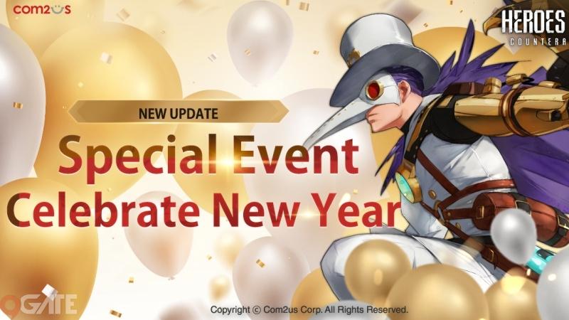 Heroes War mở loạt sự kiện với phần thưởng khủng cùng với cập nhật chào mừng năm mới