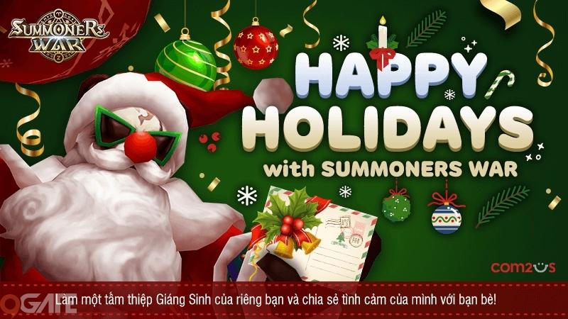 Summoners War tung cập nhật quan trọng cuối năm và video điện ảnh chào đón Giáng Sinh