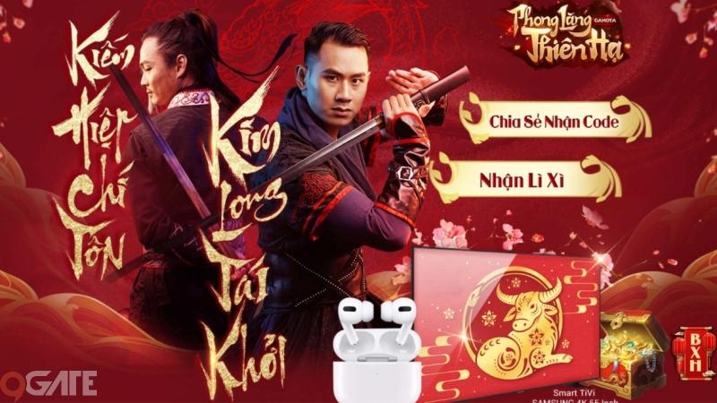 """Sự kiện """"mừng Tết"""" siêu to từ Phong Lăng Thiên Hạ chính thức xuất hiện: Smart Tivi 4K 55 inch"""
