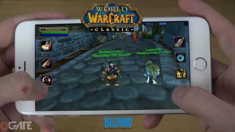 Thế hệ game thủ 8x sắp được quay lại tuổi thơ với World of Warcraft Mobile chính chủ