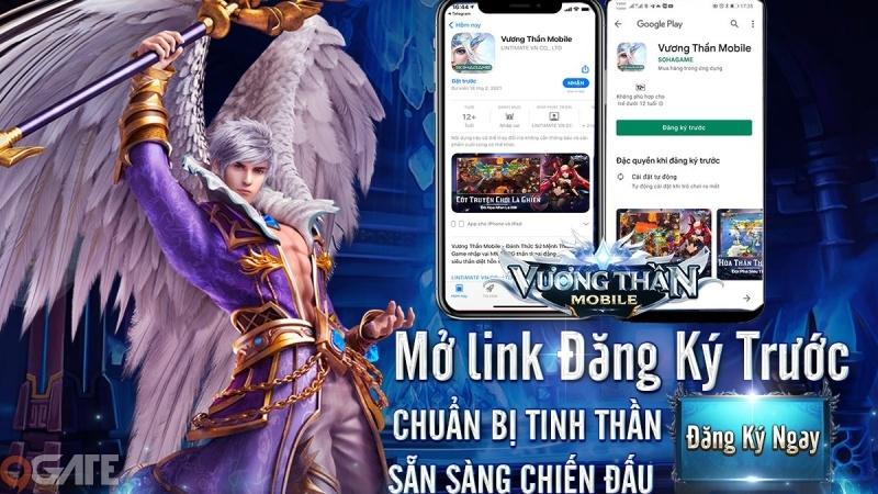 Vương Thần Mobile - Vị Vua mới của dòng game thần thoại Châu Âu mở đăng ký trước, tặng VIP 10