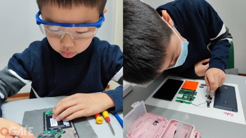 CEO Xiaomi ngưỡng mộ cậu bé 9 tuổi tự tay tháo rời Redmi 1, đóng khung thành tác phẩm nghệ thuật