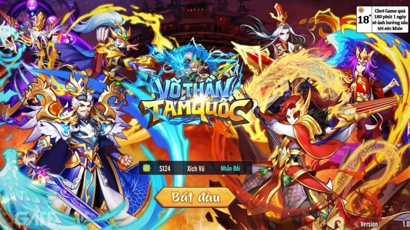 Võ Thần Tam Quốc: Video trải nghiệm game