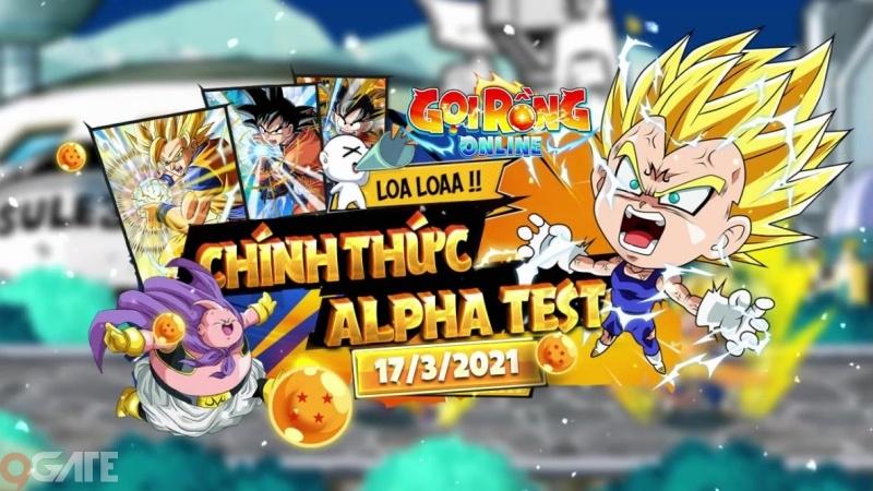 """Gọi Rồng Online – Game cực HOT đề tài """"Bi Rồng"""" chính thức Alpha Test 17/3, không mở nạp"""