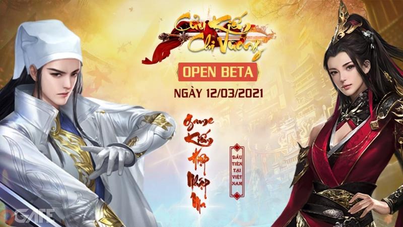 Cửu Kiếm Chi Vương chính thức Open Beta chào đón game thủ Việt