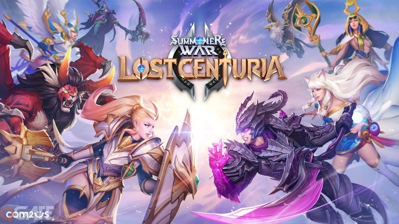 Com2uS hé lộ trang chủ chính thức hoàn toàn mới của Summoners War: Lost Centuria