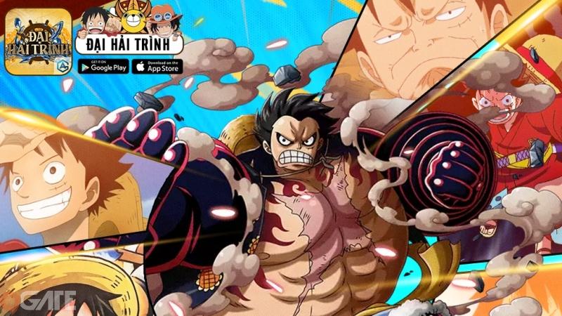 Đại Hải Trình - Bom tấn One Piece AFK chuẩn nguyên tác Oda chính thức Close Beta vào 10h 16/3