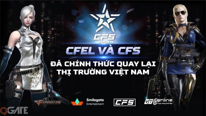 Giải đấu thể thao điện tử CFEL và CFS chính thức quay trở lại Việt Nam