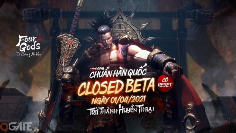 Tứ Hoàng Mobile chính thức Closed Beta và 4 lý do không thể bỏ lỡ bom tấn MMORPG đình đám xứ Hàn này