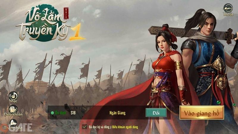 Võ Lâm Truyền Kỳ 1 Mobile: Video trải nghiệm game bản chính thức 7/4