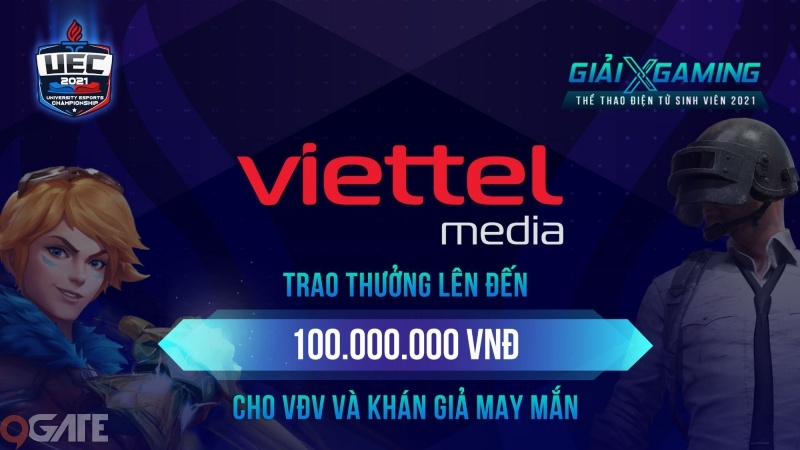Viettel Media 'mạnh tay' trao thưởng 100 triệu đồng cho VĐV và khán giả may mắn trong đêm Chung kết Xgaming - UEC 2021