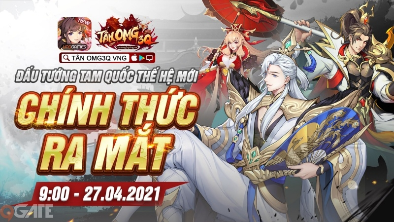 Tân OMG3Q VNG chính thức ra mắt vào 9h sáng ngày hôm nay 27/4