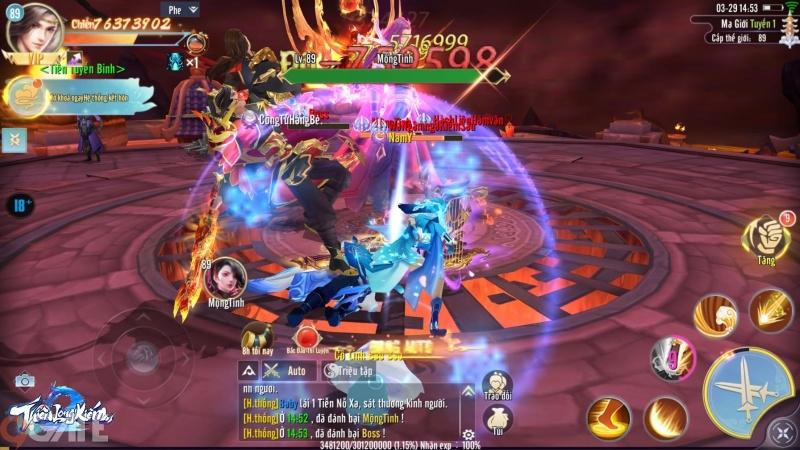 """Link tải chính thức Thiên Long Kiếm 2: Bom tấn MMORPG """"Săn Vip Lên Vip"""" đang gây bão"""