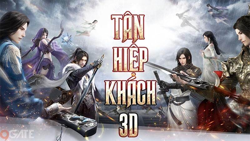 Tân Hiệp Khách 3D: Video trải nghiệm game (OB 13/5)