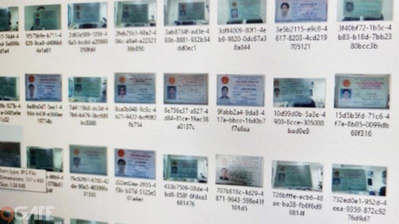"""17GB bao gồm CMND và rất nhiều thông tin """"nhạy cảm"""" của người Việt bị lộ"""