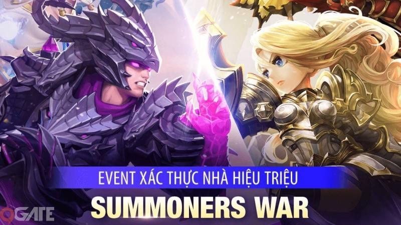 Summoners War: Sky Arena & Lost Centuria: Xác minh tài khoản người chơi để nhận thưởng