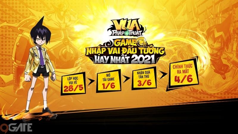 Vua Pháp Thuật công bố lộ trình game, chính thức ra mắt vào 10h00 ngày 04/06