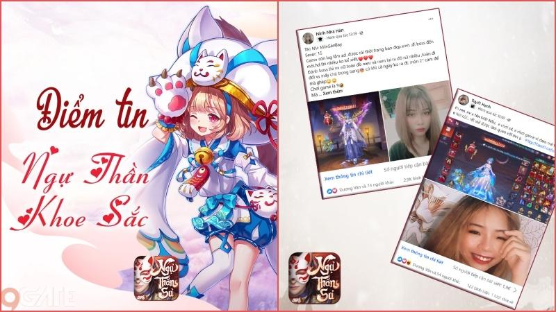 Lộ diện Idol và đại gia cùng loạt gái xinh quy tụ game Ngự Thần Sư
