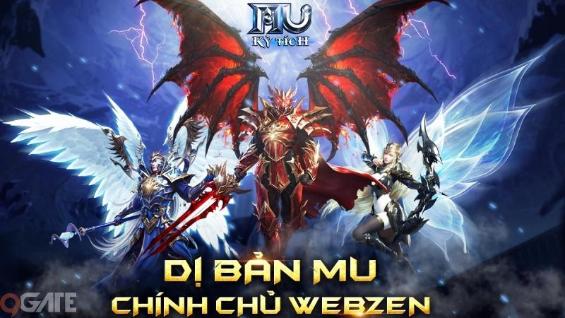 MU Kỳ Tích - Dị bản MU chuẩn Webzen chính thức cập bến Việt Nam