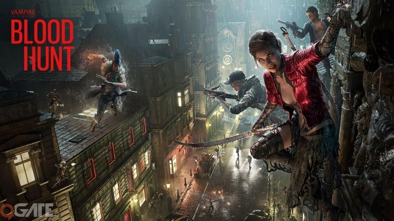 Thoải mái sinh tồn trong thế giới ma cà rồng với tựa game BloodHunt bom tấn 2021
