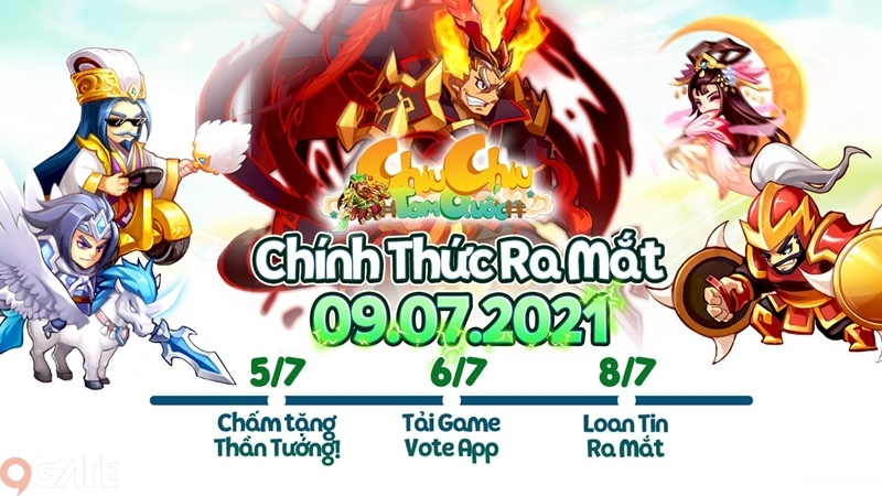 Chiu Chiu Tam Quốc: Video trải nghiệm game (OB 9/7)