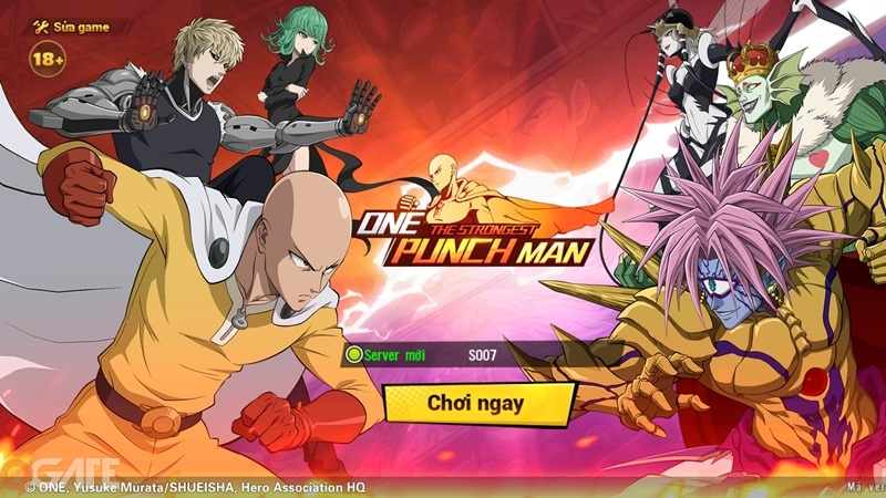 One Punch Man - Strongest: Video trải nghiệm game (OB 19/8)