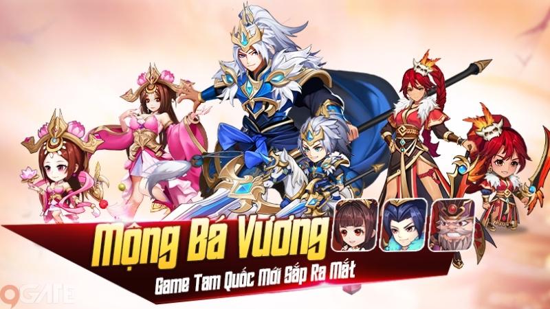 Mộng Bá Vương – Tựa game chiến thuật dàn quân Tam Quốc H5 sắp ra mắt game thủ Việt