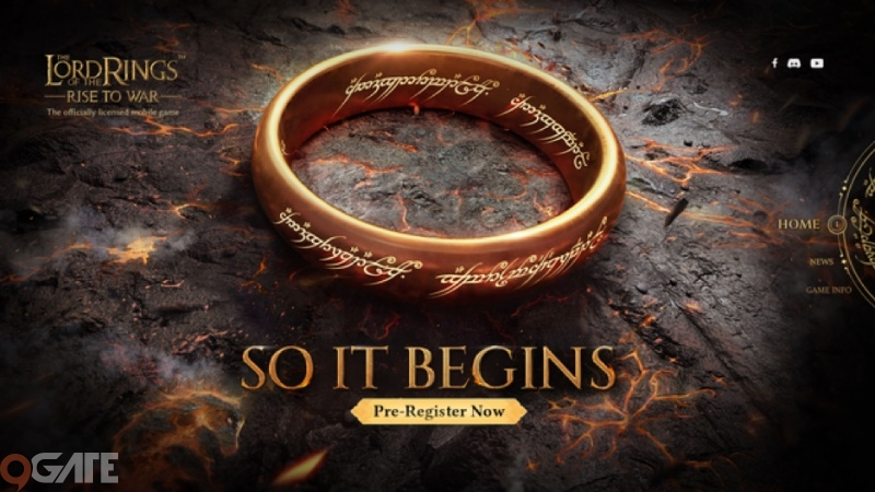 The Lord of the Rings Mobile chính chủ sẽ ra mắt vào cuối tháng 9