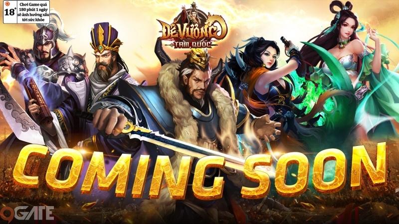Đế Vương Tam Quốc - Top 1 game chiến thuật Tam Quốc sắp ra mắt game thủ Việt