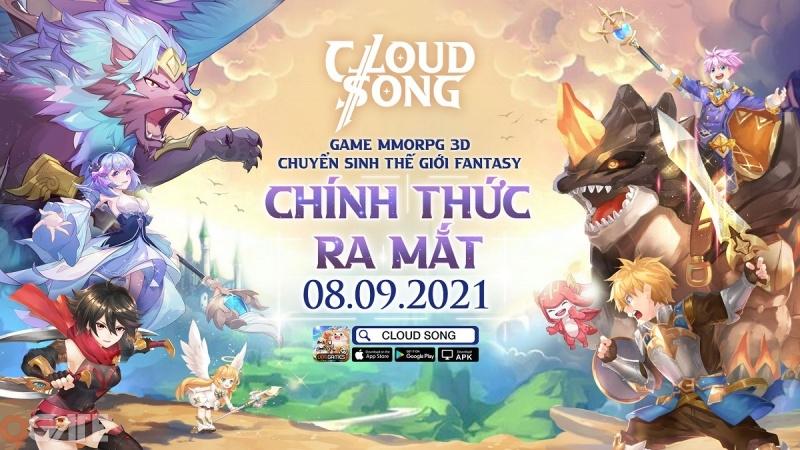 Cloud Song: Vân Thành Chi Ca tặng giftcode nhân dịp ra mắt chính thức