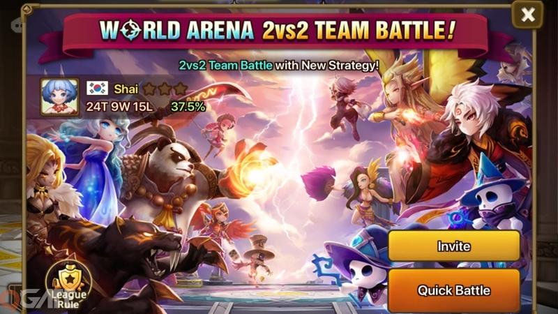 Summoners War ra mắt tính năng siêu phẩm Trận đấu đội 2vs2, lần đầu xuất hiện tại Đấu trường Thế giới