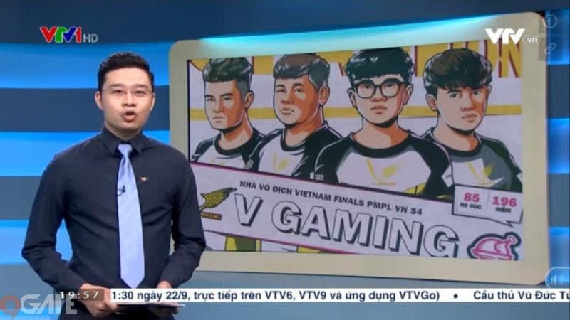 VNG và PUBG Mobile được nhắc tên trên sóng truyền hình Quốc gia với hai từ