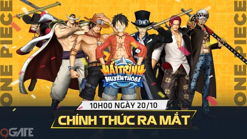 Hải Trình Huyền Thoại: Game One Piece 3D chính thức ra mắt vào 10h ngày 20/10