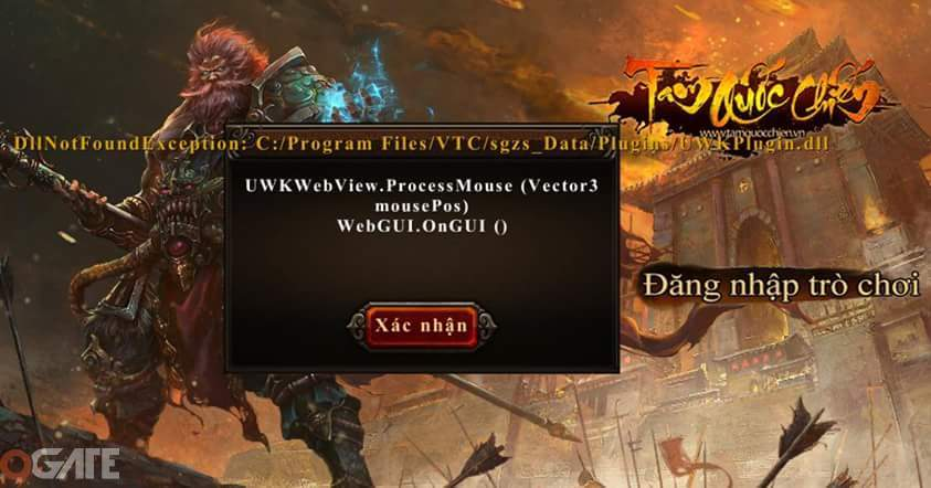 Tam Quốc Chiến: Bị lỗi phiên bản PC?