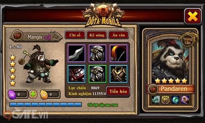Dota Mobile - Cuộc chiến không khoan nhượng