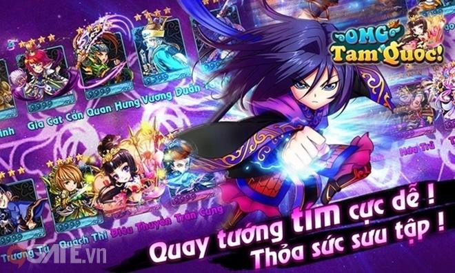 Tổng quan tính năng và gameplay OMG Tam Quốc