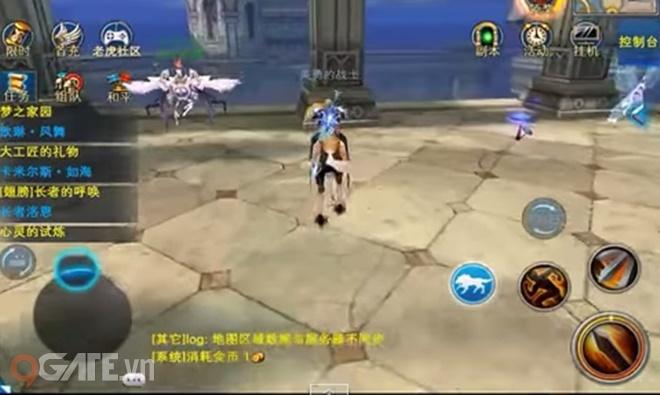 Chơi thử Thần Ma Đại Lục Mobile phiên bản Tiếng Trung