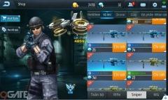 Phục Kích Mobile: Tìm hiểu khẩu súng Barrett-Ice Blue