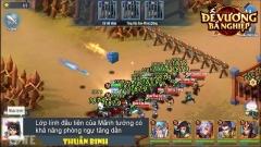 Đế Vương Bá Nghiệp Mobile: Hệ thống tướng và lính