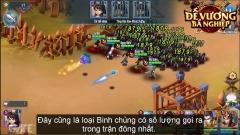 Đế Vương Bá Nghiệp Mobile: Lính của Mãnh Tướng