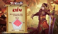 Tân Thiên Hạ Mobile: Chiêm ngưỡng bộ kĩ năng đầy uy lực của Kiếm phái