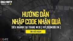 Call of Duty Mobile: Hướng Dẫn Nhập Code