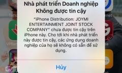 Hướng dẫn xác thực tin cậy game Vô Song Tây Du khi sử dụng iOS 9