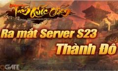 Tam Quốc Chiến tặng Giftcode nhân dịp ra mắt S23 Thành Đô