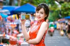 Dạo phố ngày Trung Thu cùng nữ admin Minh Châu Tam Quốc Huyền Chibi