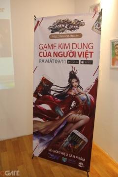 Toàn cảnh buổi họp báo ra mắt sản phẩm Hoa Sơn Luận Kiếm 3D