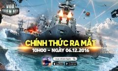 Vua Chiến Hạm – Siêu phẩm Thế Chiến chính thức ra mắt hôm nay, tặng ngay giftcode