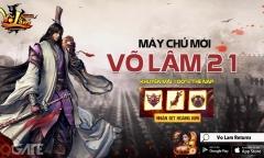 """Võ Lâm Returns tặng game thủ GiftCode giá trị hỗ trợ """"phá đảo thế giới ảo"""""""