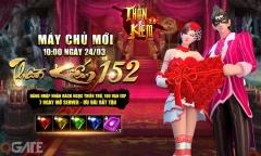 Ra mắt máy chủ S152, Thần Kiếm 3D tặng game thủ 200 Giftcode