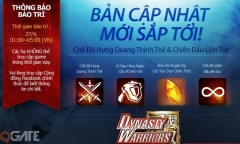 """Dynasty Warriors: Unleashed bảo trì, chuẩn bị cho """"ra lò"""" phiên bản mới hot nhất"""